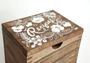 David Deusner DIY Recipe Box